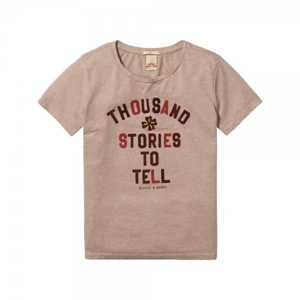 Camiseta de inspiración rockera