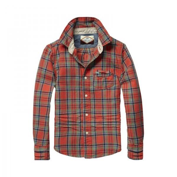 Camisa de franela ligera