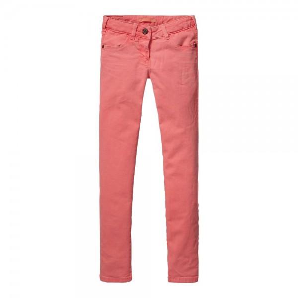 Pantalones con teñido especial
