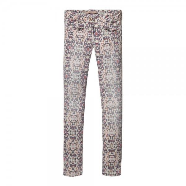 Pantalones moteros estampados
