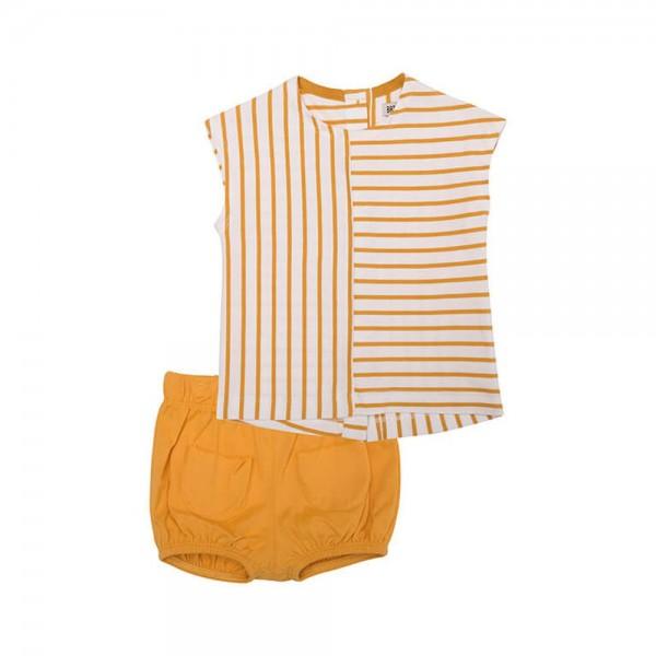 Conjunto marinero camiseta y short