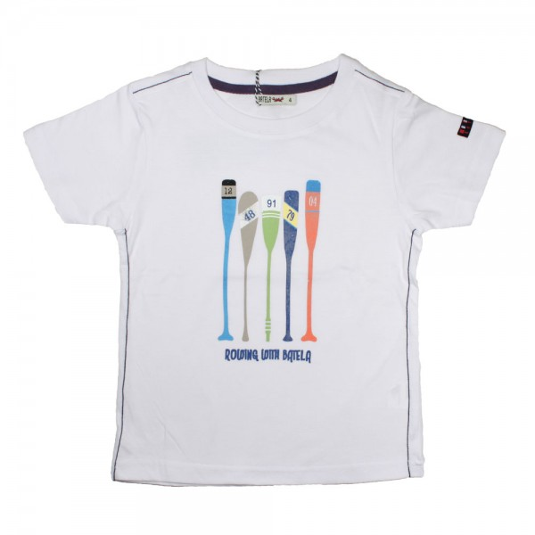 Camiseta blanca remos