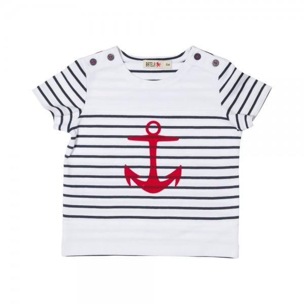 Camiseta marinera ancla