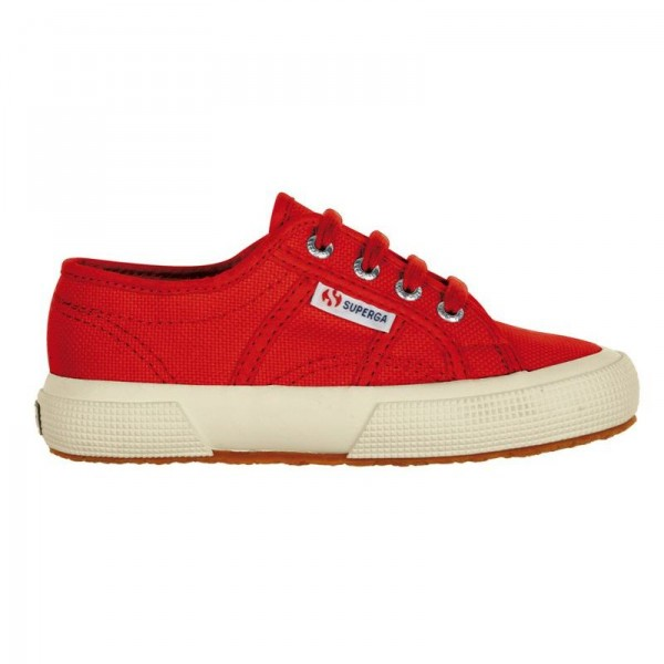 SUPERGA 2750 JCOT RED (talla 25 a 35)